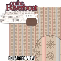 Liberty Square: On The Riverboat 2 piece Laser Die Cut Kit