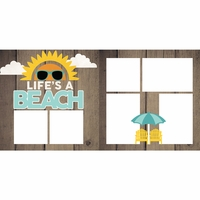 Life's a Beach 2 Page Layout Kit