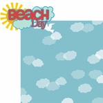 Life's A Beach: Beach Day 2 Piece Laser Die Cut Kit