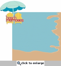 Life's A Beach: Beach Memories 2 Piece Laser Die Cut Kit