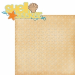 Life's A Beach: Shell Seeker 2 Piece Laser Die Cut Kit
