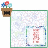 Lily: Happy 2 Piece Laser Die Cut Kit