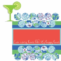 Lily: Happy Hour 2 Piece Laser Die Cut Kit
