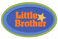 Little Brother Laser Die Cut