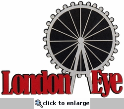 London Eye Laser Die Cut