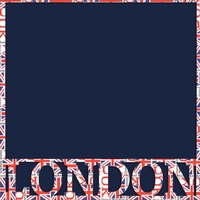 London & Flags 12 x 12 Overlay Quick Page