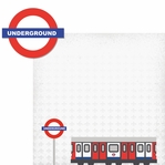 London: London Train 2 Piece Laser Die Cut Kit