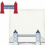 London: Tower Bridge 2 Piece Laser Die Cut Kit