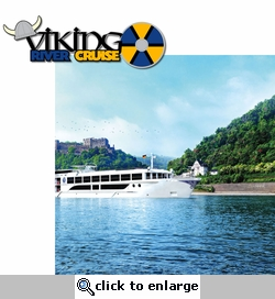 Long Ship: Viking River Cruise 2 Piece Laser Die Cut Kit