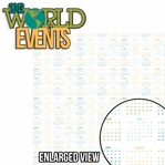 Looking Back: 2013 World Events 2 Piece Laser Die Cut Kit