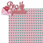 Love Notes: Be My Valentine 2 Piece Laser Die Cut Kit