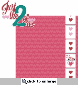 Love Notes: Just The Two Of Us 2 Piece Laser Die Cut Kit