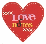 Love Notes Laser Die Cut