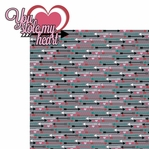 Love Notes: You Stole My Heart  2 Piece Laser Die Cut Kit