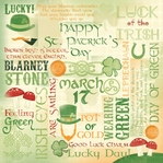 Luck of the Irish Collage 12 x 12 Double-Sided Paper