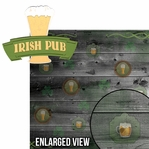 Lucky Charm: Irish Pub 2 Piece Laser Die Cut Kit