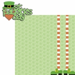 Lucky: St. Patrick's Day 2 Piece Laser Die Cut Kit