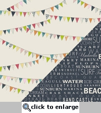 Lucy's Crab Shack: Clam Bake/Snack Shack 12 x 12 Cardstock