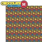 M and Ms: Chocolate Characters 2 Piece Laser Die Cut Kit