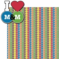 M and Ms: I love M and Ms 2 Piece Laser Die Cut Kit