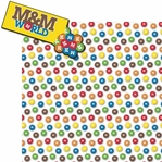 M and Ms: M and Ms World 2 Piece Laser Die Cut Kit