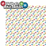 M and Ms: Melts In Your Mouth 2 Piece Laser Die Cut Kit