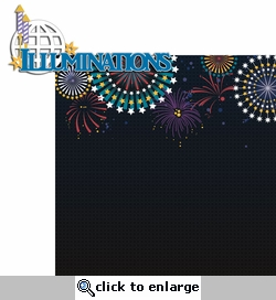 Magic At Night: Illuminations 2 Piece Laser Die Cut Kit