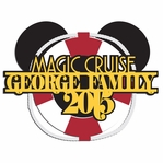Magic Cruise: Custom Family 2 Piece Laser Die Cut Kit