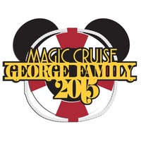Magic Cruise: Custom Family 2 Piece Laser Die Cut