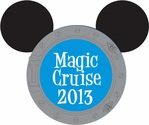 Magic Cruise: Custom Porthole Laser Die Cut