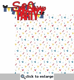 Magic Cruise: Sail Away Party 2 Piece Laser Die Cut Kit