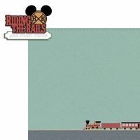 Magic Kingdom:Riding the Rails 2 Piece Laser Die Cut Kit