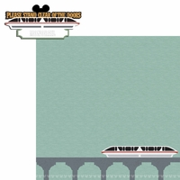 Magic Kingdom: Stand Clear 2 Piece Laser Die Cut Kit
