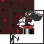 Magic: Magician 12 x 12 Overlay Quick Page Laser Die Cut-<font color=red><b>We LOVE!</b></font>