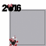 Magic Moments: 2016 Minnie 2 Piece Laser Die Cut Kit