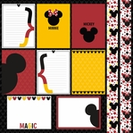 Magic Moments: Magic Mouse Journal cards and Elements 12 x 12 Paper