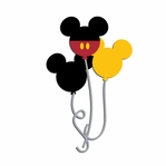 Magic Moments: Mouse Balloons Laser Die Cut
