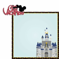 Magic Moments: Our Vacation 2 Piece Laser Die Cut Kit