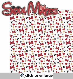 Magic Moments: Soul Mates 2 Piece Laser Die Cut Kit