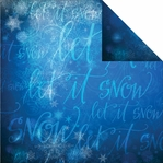 Magical Christmas: Let It Snow 12 x 12 Double Sided Cardstock