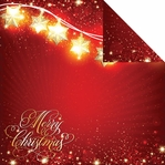 Magical Christmas: Magical Christmas 12 x 12 Double Sided Cardstock