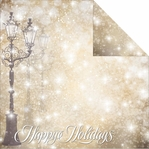 Magical Christmas: Magical Lane 12 x 12 Double Sided Cardstock