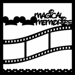 Magical Memories 12 x 12 Overlay Laser Die Cut