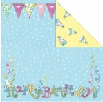 Make A Wish: Birthday Girl 12 x 12 Double-Sided Cardstock
