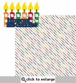 Make A Wish: Blow Out The Candles 2 Piece Laser Die Cut Kit