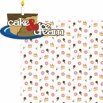 Make A Wish: Cake & Ice Cream 2 Piece Laser Die Cut Kit