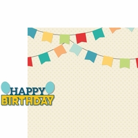 Make A Wish: Happy Birthday Boy 2 Piece Laser Die Cut Kit