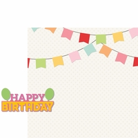 Make A Wish: Happy Birthday Girl 2 Piece Laser Die Cut Kit