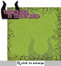 Maleficent: Evil In This World 2 Piece Laser Die Cut Kit