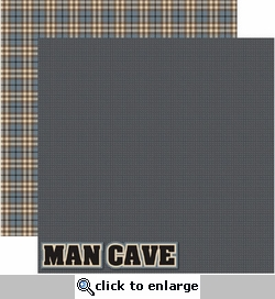 Man Cave 12 x 12 Double-Sided Cardstock